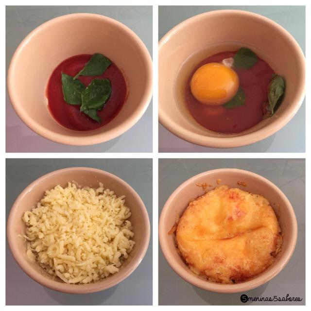 """Tacinhas de ovos à italiana por """"5meninas5sabores"""""""